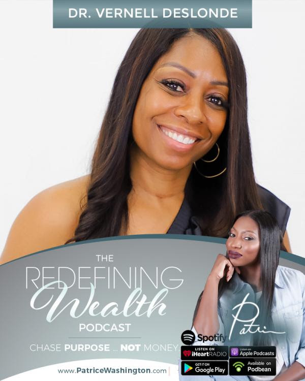 Dr. Vernell Featured on the Patrice Washington Podcast